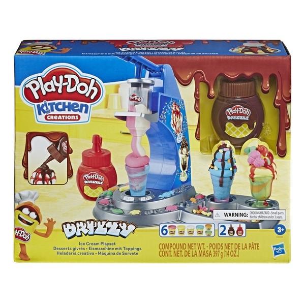 PLAY-DOH培樂多 廚房系列 DRIZZY 雙醬冰淇淋 TOYeGO 玩具e哥