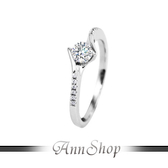 AnnShop【925純銀‧舞動花樣.鋯石/鑽石純銀戒指】可客製化鑽石珠寶銀飾禮品