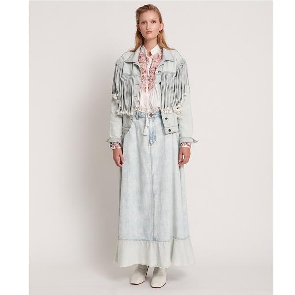 ONETEASPOON 牛仔裙- MAVERICK- 藍