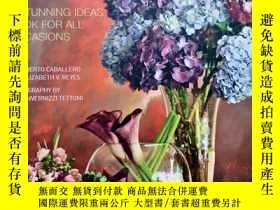 二手書博民逛書店Decorating罕見with Flowers A Stunning Ideas Book for All Oc