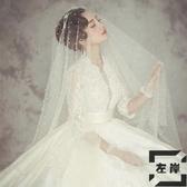 穆斯林珍珠頭紗個性造型頭紗結婚頭紗【左岸男裝】