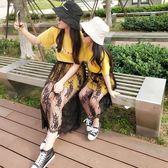 母女裙 母女裝夏裝新款潮親子裝夏季時尚連身裙短袖長款t恤套裝裙子【韓國時尚週】