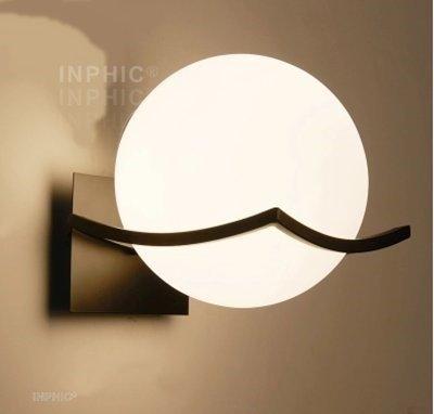 INPHIC首選燈具-壁燈床頭燈/臥室現代簡約陽檯壁燈/酒店樓梯過道燈/創意新中式壁燈