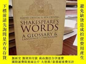 二手書博民逛書店Shakespeare s罕見Words: A Glossary