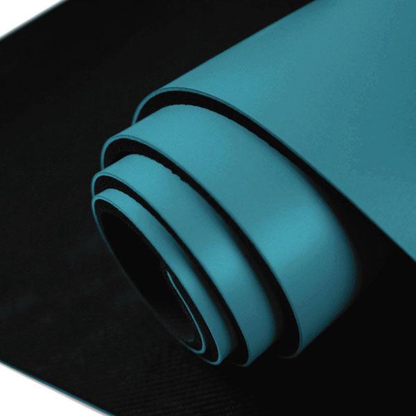 namaste 瑜珈墊 Namaskara 5mm PU瑜珈墊 (附收納束繩&背袋) - 深藍Cadet blue A901-550-5