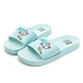 DISNEY-TOY系列-呆萌叉奇休閒拖鞋-藍-DW6168FF