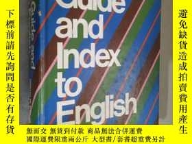 二手書博民逛書店Writer s罕見guide and index to English 英文原版精裝 6 edY12480