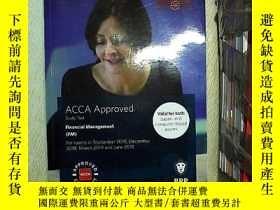 二手書博民逛書店ACCA罕見Financial management (FM) study text  財務管理研究(ACCFM)
