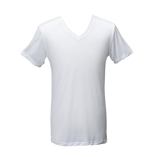 《台塑生醫》Dr's Formula冰晶玉科技涼感衣-男用短袖款(白)一件入