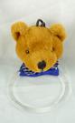 【震撼精品百貨】日本泰迪熊~毛巾掛『絨毛頭-咖啡』