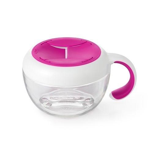 OXO tot 零食杯(含蓋)-莓果粉〔衛立兒生活館〕