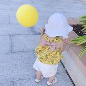造型帽兒童嬰童店兒童帽子男女寶寶遮陽帽防曬帽女童凹造型花邊盆帽 嬡孕哺