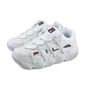 FILA 老爹鞋 運動鞋 女鞋 白色 厚底 4-B007T-411 no050