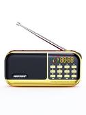 收音機 收音機老人新款便攜式老年音樂播放器小型迷你評書機充電插卡音箱  美物 99免運