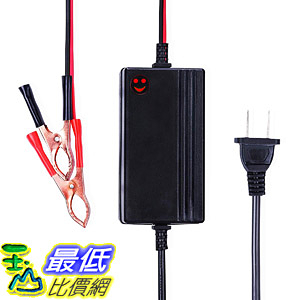 [8美國直購] 接電器 12V to 14.8V Automatic Lead Acid Battery Charger/Maintainer, 1.2A Trickle Boat