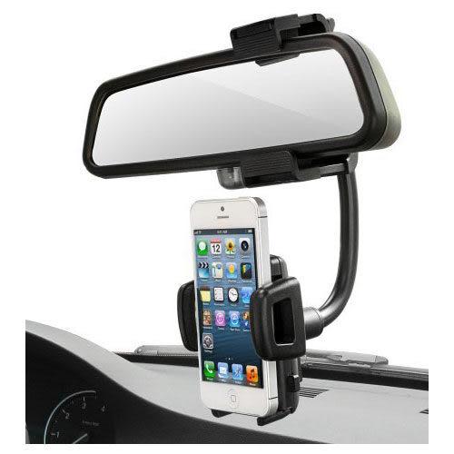 【後視鏡車架】iPhone 6s/6/6 Plus/SE Xperia Z3 M8 M7 Desire 816 S5 導航 車用固定架/萬用手機座/汽車後照鏡