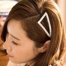 三角水鑽造型髮箍【Vogues唯格思】G005