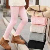 春秋季女童加絨連褲襪秋冬季加厚打底褲外穿女孩褲襪保暖兒童襪子 快速出貨免運