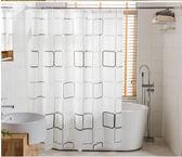 浴室簾加厚浴簾套裝免打孔防水防霉簾子布衛生間掛簾浴室門簾隔斷簾浴罩