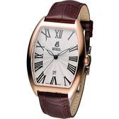 依波路 E.BOREL 雅仕系列酒桶型時尚腕錶 GGR8688N1-25551BR
