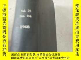 二手書博民逛書店journal罕見of the physical society of japan Vol.25 Nos.4-6