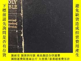 二手書博民逛書店THE罕見HOLY BIBLE CONTAINING THE OLD AND NEW TESTAMENTS 大量彩