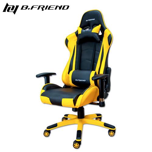 B.Friend GC03 電競專用椅 黃黑