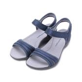 HUSH PUPPIES ATHOS 機能涼拖鞋 藍 6181W183203 女鞋