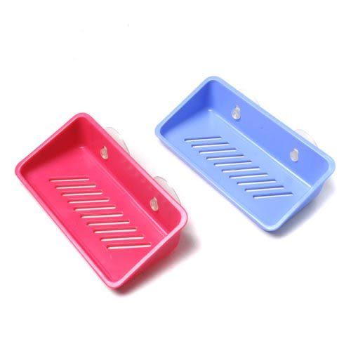 【九元生活百貨】吉米日新吸盤置物籃 皂盒