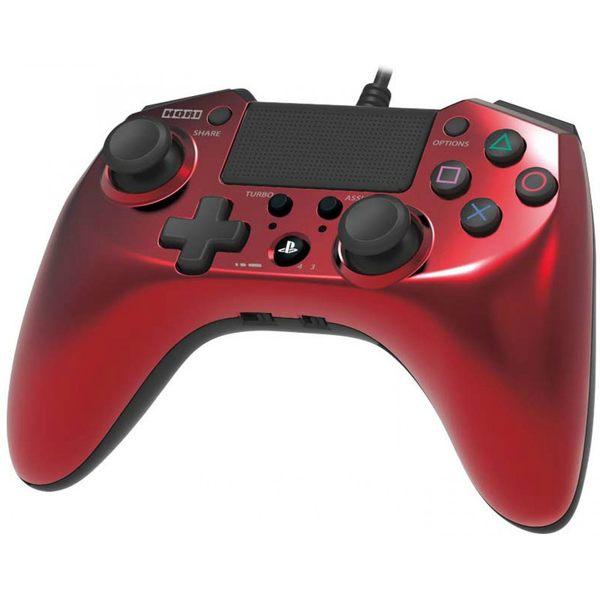 [哈GAME族]免運費 可刷卡 PS4/PS3 HORI FPS PLUS 連射 連發有線控制器 連發手把 搖桿 PS4-027 紅色