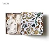 四季款彩棉新生兒禮盒十件套嬰兒禮盒內衣0-6月【販衣小築】