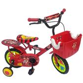 【MIT 精選童車】12吋老虎腳踏車(紅 / 藍 / 橘)