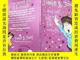 二手書博民逛書店JUNIE罕見B.JONES…and her big fat mouth:朱尼·B·瓊斯……還有她的大 嘴巴Y