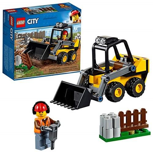LEGO 樂高 City Great Vehicles Construction Loader 60219 Building Kit (88 Piece)