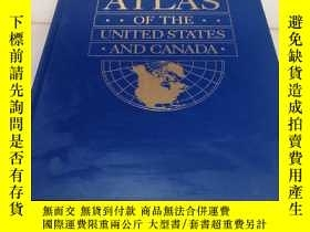 二手書博民逛書店pictorial罕見Atlas of the United States and canadaY15809