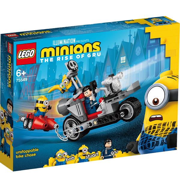 樂高積木 小小兵 LEGO MINIONS 75549 Unstoppable Bike Chase