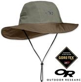 Outdoor Research 美國 OR 防水透氣大盤帽 OR 243505 卡其 旅遊 登山 Goretex 防水 防雨【易遨遊】