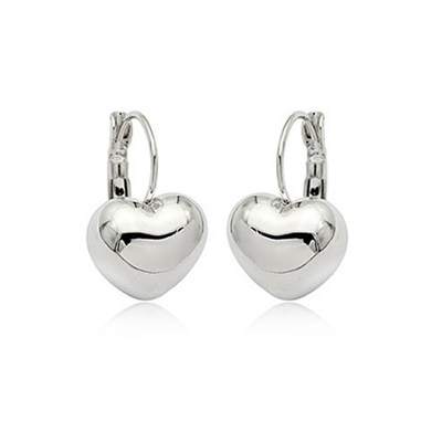 耳環 925純銀-氣質百搭生日情人節禮物女耳針73gt158【時尚巴黎】