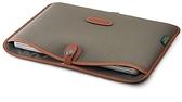 24期零利率 Billingham Laptop Slip 白金漢 筆電專用袋 13吋 5210148-70 綠斜紋