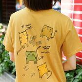 Taigee新款東大門原宿BF學院風創意卡通可愛創意短袖T恤女閨蜜裝