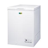 台灣三洋SANLUX【SCF-108GE】105L 上掀式冷凍櫃
