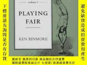 二手書博民逛書店Game罕見Theory And The Social Contract, Vol. 1Y364682 Ken