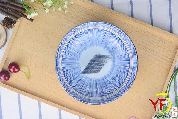 【堯峰陶瓷】【日本美濃燒】彩虹十草 6吋缽 圓缽/碗 線條紋