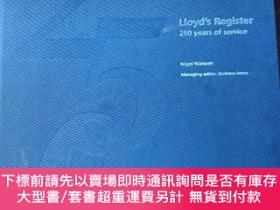 二手書博民逛書店Lloyd s罕見Register 250 years of serviceY243292 Lloyd s R
