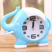 週年慶優惠-鬧鐘 創意小象造型桌面盒裝家用定點鬧鈴立體數字指針兒童鐘錶擺件