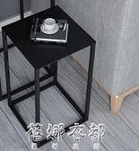 歐式簡約現代風格客廳小戶型小茶幾迷你花架igo  蓓娜衣都