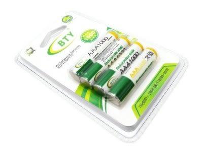 BTY-BTY NI-MH 鎳氫充電電池 4號(AA) / 高容量