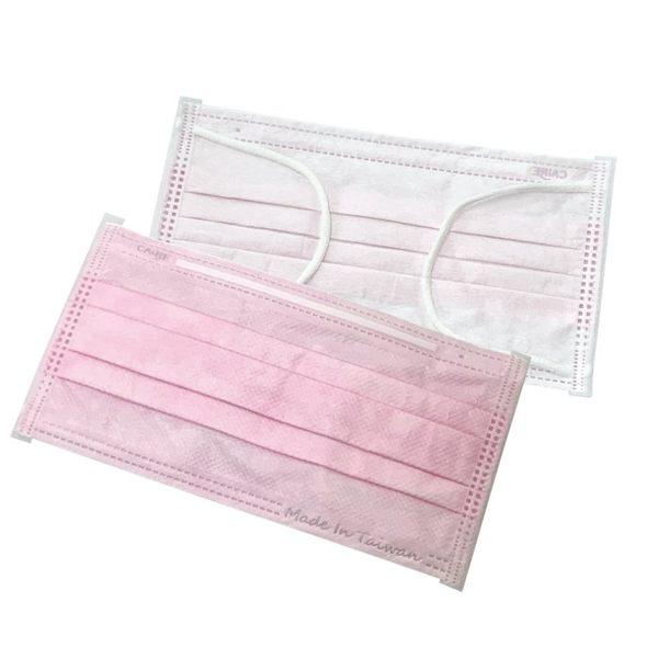 歡迎批發 台灣製造 時尚素面可拋棄式三層防塵口罩 三色供選 (50片/包)【K4002317】