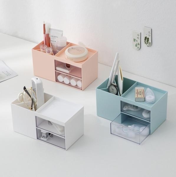 桌面收納盒 三角筆筒收納盒 置物盒 收納架 收納盒 文具用品 彩妝收納 辦公室【RS1200】