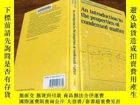 二手書博民逛書店An罕見Introduction to the Properties of Condensed Matter .奇